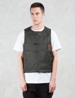 LETASCA Multi Pocket Reversible Pullover Vest Picture