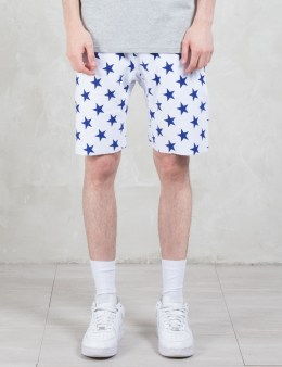 Champion Reverse Weave Overall Stars Sweatshorts Picture