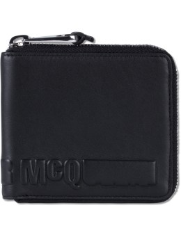 McQ Alexander McQueen Emboss McQ Zip Around Wallet Picture