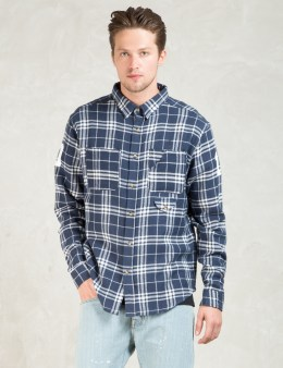 10.DEEP Navy Big Ten Buttondown Shirt Picture