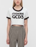 GCDS J'Adore GCDS Cropped T-Shirt Picture