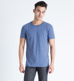 Naked & Famous Blue Seamless Body T-Shirt Picture