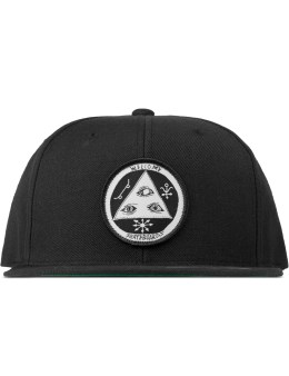 Welcome Skateboards Black Talisman Snapback Picture