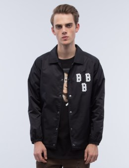Black Scale Triple B Coach's Jacket Picture