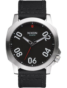 Nixon Black/Red Ranger 45 Nylon Watch Picture