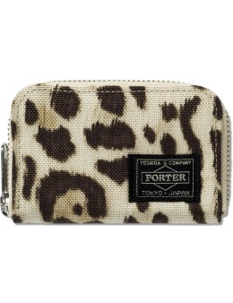 Head Porter Leopard Coin Case Picture