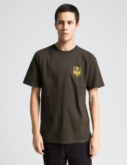 HUF Brown Delivery T-Shirt Picture