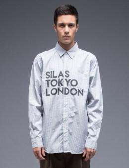 SILAS Tokyo/London Print Yoke L/S Shirt Picture