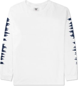 Mark McNairy for Heather Grey Wall White Trill These Print L/S T-Shirt Picture