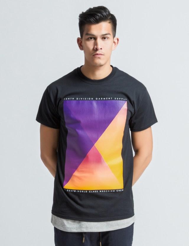 10 deep black pyramid fade t shirt hbx for Black pyramid t shirts for sale