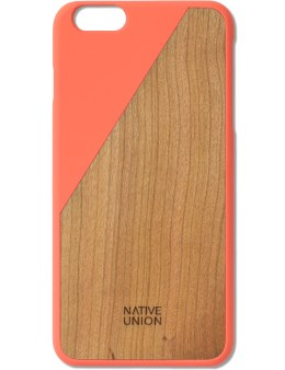Native Union Orange Clic Wooden Iphone6+ Case Cherry Picture