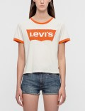 Levi's Orange Tab Graphic Logo T-Shirt Picture