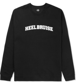 Heel Bruise Black College Arc Logo Sweater Picture