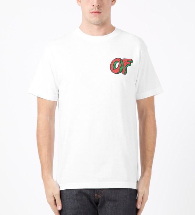 Odd Future White OF Watermelon Donut T-Shirt | HBX.