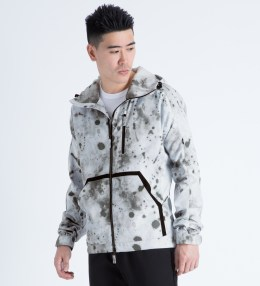 MAGIC STICK White Splatter Lined Wind Runner Jacket Picture