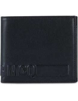 McQ Alexander McQueen Emboss McQ Logo Fold Wallet Picture