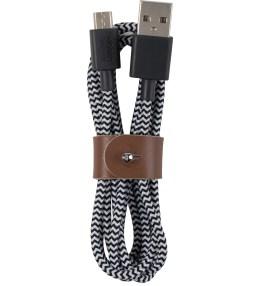 Native Union Zebra Micro-USB Belt Cable - Medium (1.2m) Picture