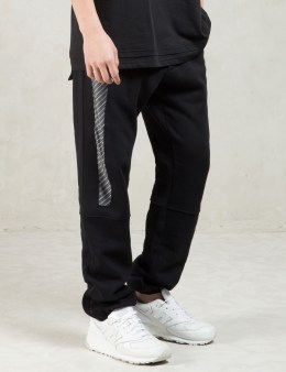Uppercut Black Printed Insert Sweatpants Picture