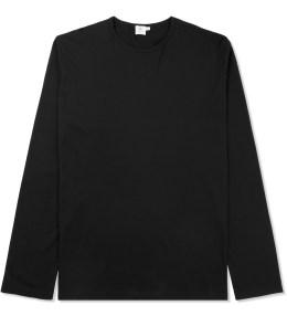 SUNSPEL Black Crewneck L/S T-Shirt Picture