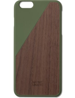 Native Union Green Clic Wooden Iphone6+ Case Walnut Picture