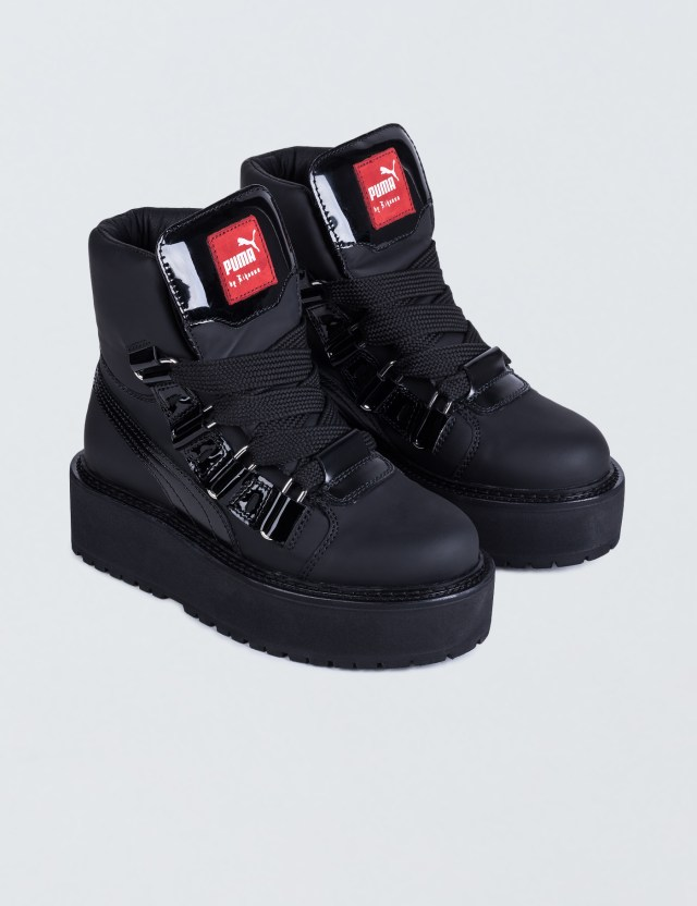 Puma FENTY by Rihanna SB Black Eyelet  Boots