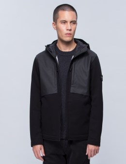 STONE ISLAND Layered Hooded Jacket Picture