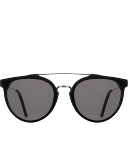 SUPER BY RETROSUPERFUTURE Giaguaro Black Sunglasses Picture