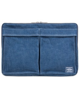 Head Porter Denim Document Case Picture