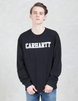 Carhartt WORK IN PROGRESS College Sweatshirt Picture