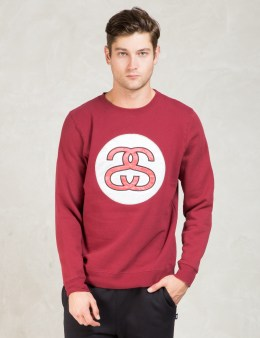 Stussy Red Ss Link App. Crew Picture