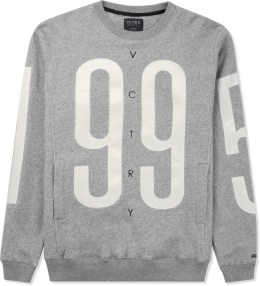 10.DEEP Grey Marl Games Crewneck Sweater Picture