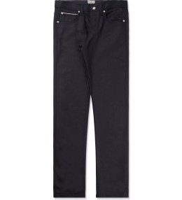 Naked & Famous Dark Indigo Stretch Selvedge Weird Guy Jeans Picture