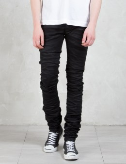 DIESEL BLACK GOLD Type-2614 Comfort Stretch Black Denim Picture
