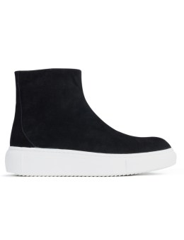 D BY D Suede High Top Sneakers Picture
