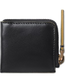 MARNI Black Leather Coin Wallet Picture