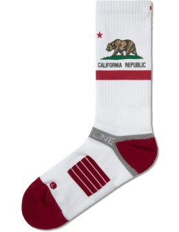 Strideline White Bear  Strapped Fit 2.0 Socks Picture