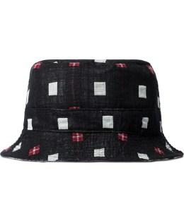 PUBLISH Black Nicolo Reversible Bucket Hat Picture
