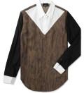 3.1 Phillip Lim Redwood Combo Panel L/S Button Up Shirt Picture
