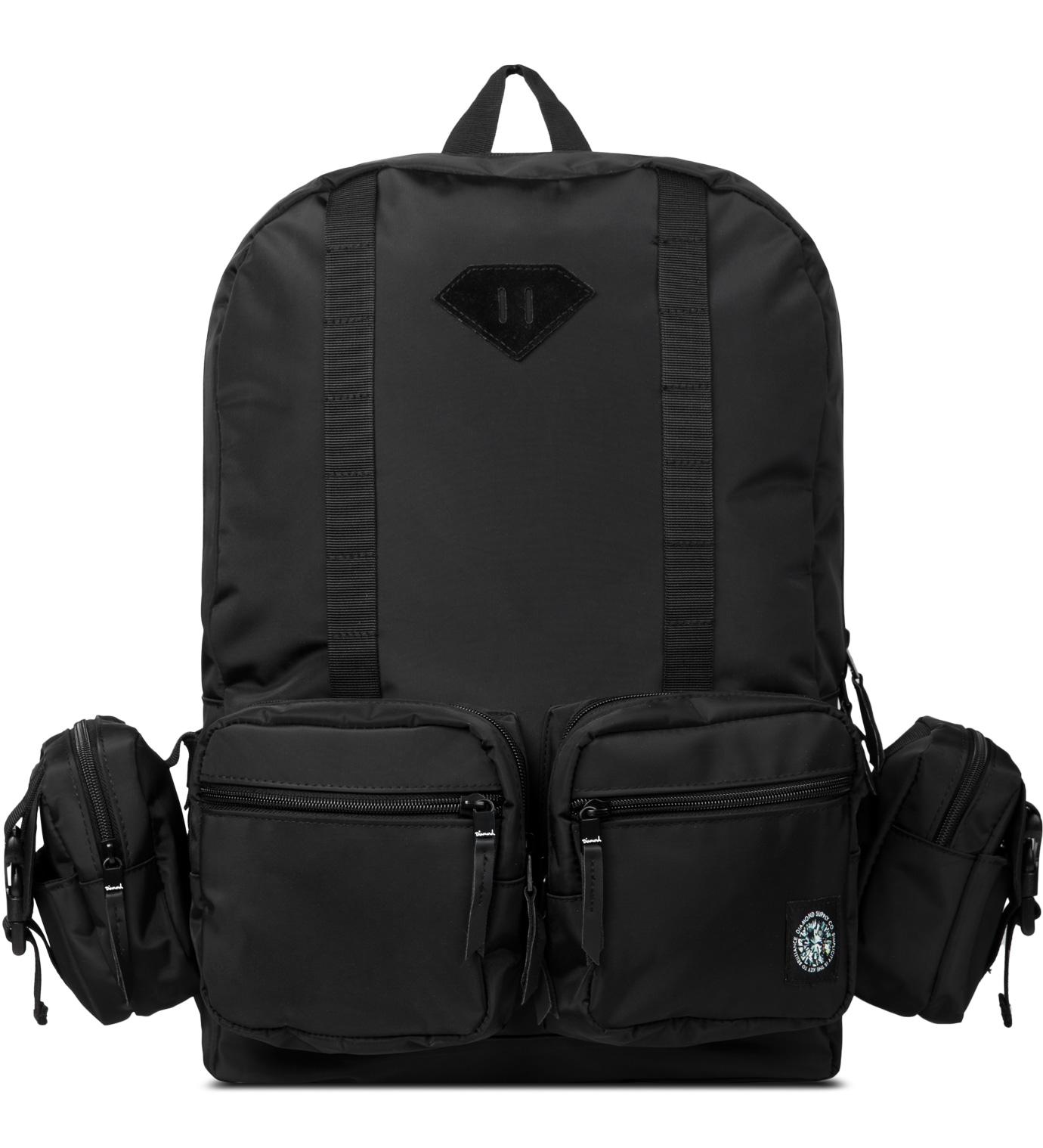 Diamond Supply Co. Black Haight Backpack | HBX. - photo#47