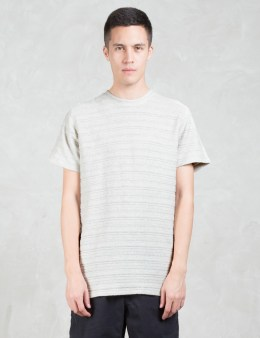 Norse Projects Niels Textured Stripe S/S T-Shirt Picture