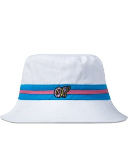Odd Future White OF Logo Bucket Hat Picture