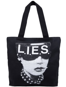 L.I.E.S. Records Topaz Tote Bag Picture