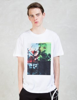 McQ Alexander McQueen Floral Print S/S T-Shirt Picture