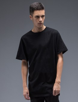 STAMPD Black S/S Elongated T-Shirt Picture