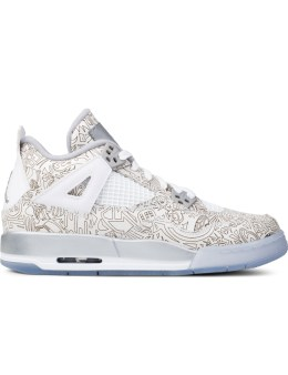 "Jordan Brand Air Jordan 4 ""Laser"" GS Picture"