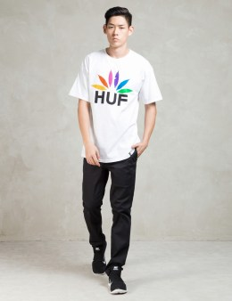 HUF White Dbc Sports T-shirt Picture
