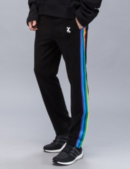 XANDER ZHOU Rainbow Pipping Sporty Pant Picture
