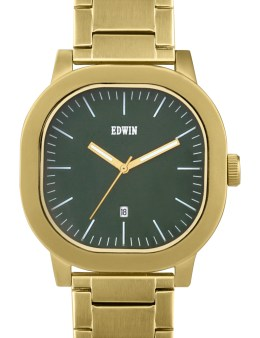EDWIN Watch Gold With Green Dial Anderson Picture