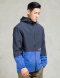 The Hundreds Navy Carson Windbreaker Jacket Picture