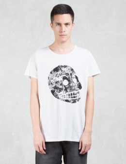 Cheap Monday Cap Moon Skull T-Shirt Picture